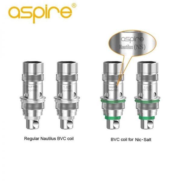 Aspire BVC Coils Nautilus 5 Pcs