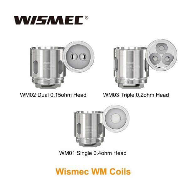 Wismec WM Coils 5 Pcs