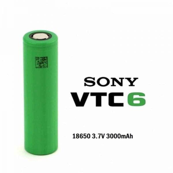 Sony 18650 VTC6 3000 mAh