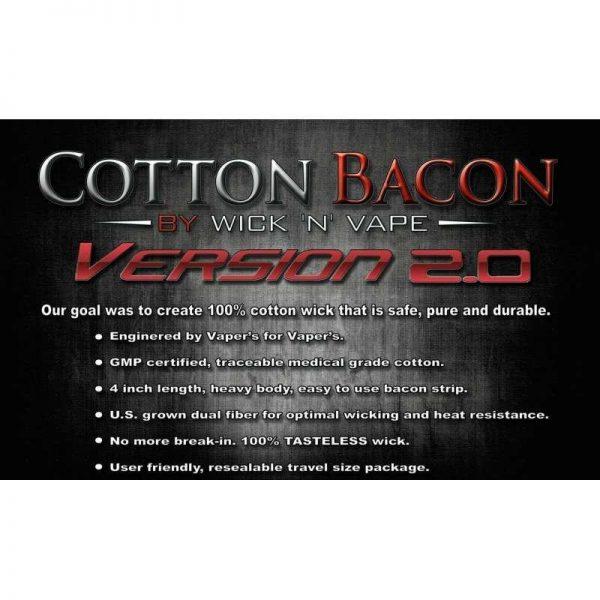Wick n Vape Cotton Bacon v2