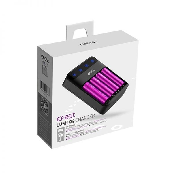 Efest LUSH Q4 Intelligent LED Charger
