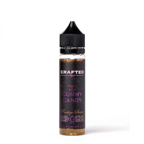 Crafted - Sweet n Sour Gummy Candy 60ml