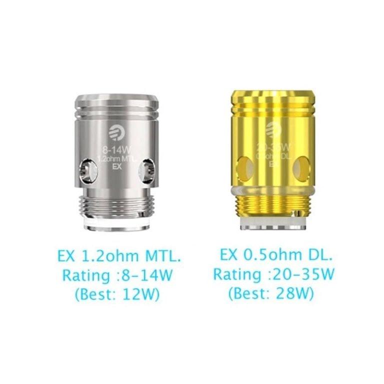 JoyeTech EX Coils 5 Pcs