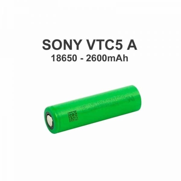 Sony | Murata VTC5A 18650 2600mAh 25A Batteri - US18650VTC5A