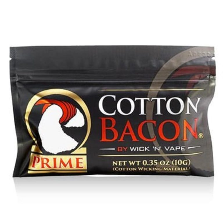 WICK 'N' VAPE - COTON BACON PRIME