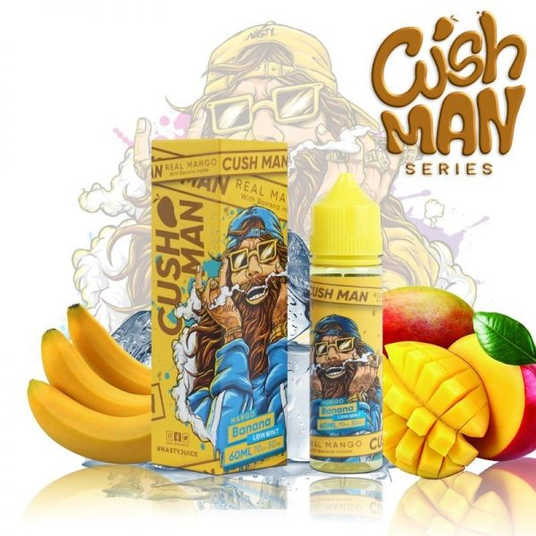 Nasty Juice - Cush Man - Mango Banana 60ml