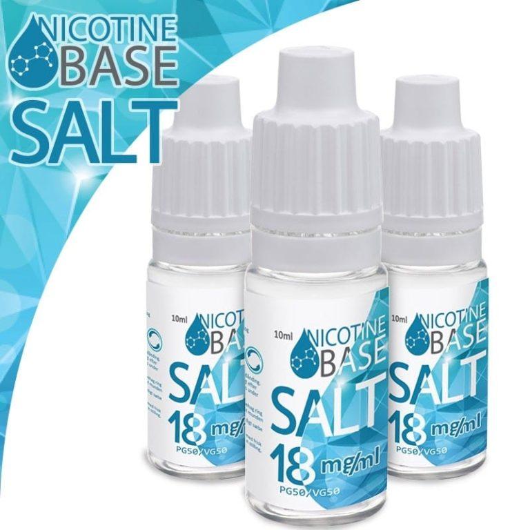 Nicotine Base SALT PG50/VG50 - 18 mg
