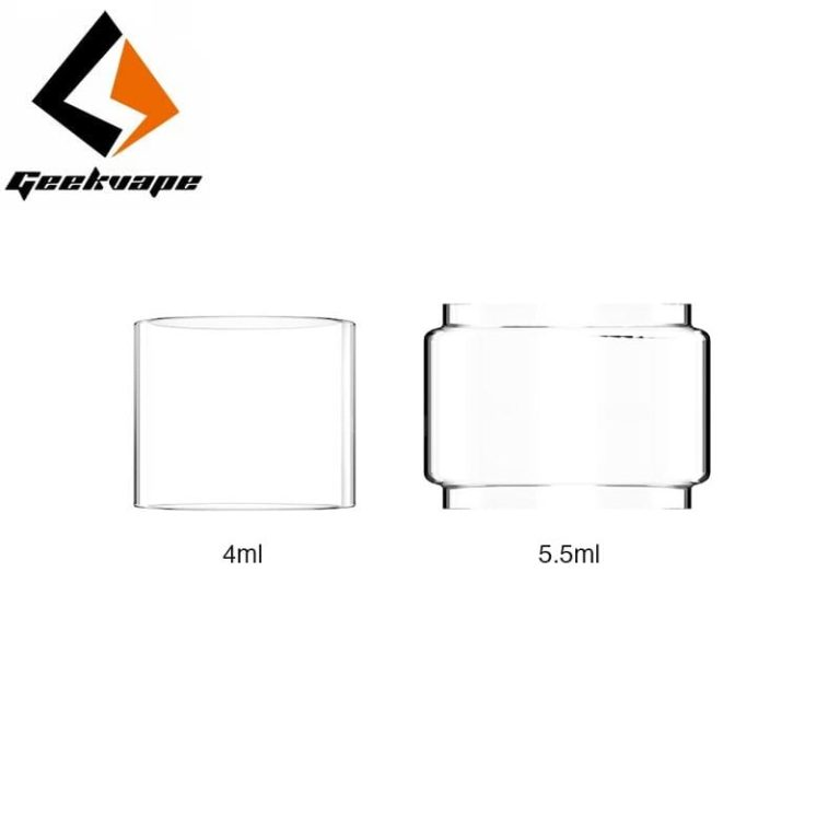 GeekVape Zeus Dual / Zeus X boble Glas 5,5 ml