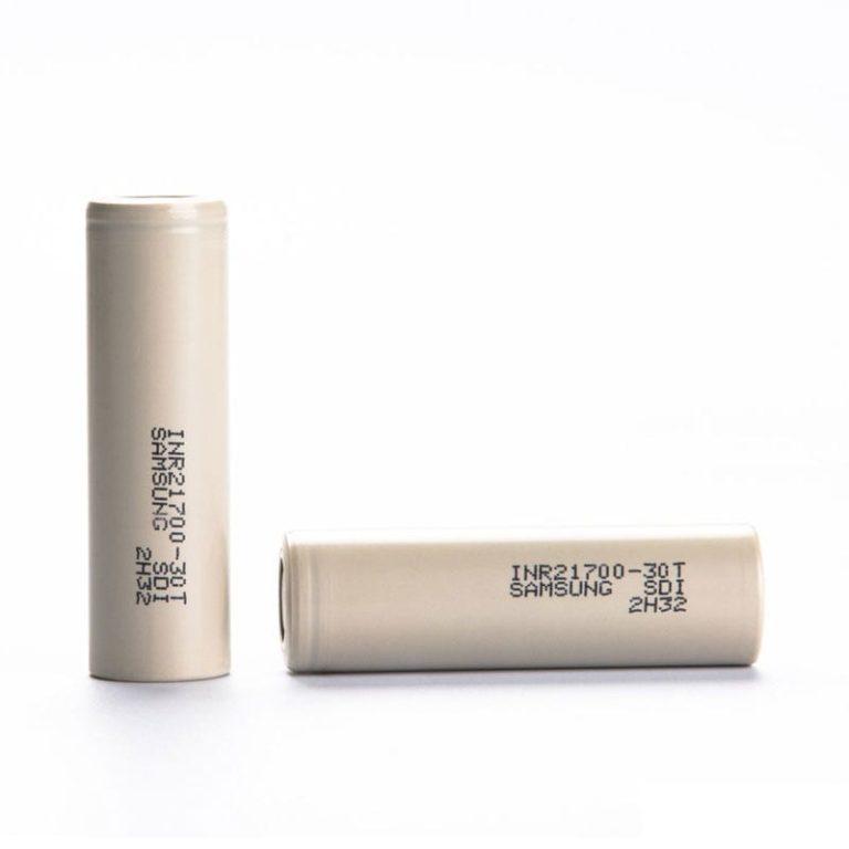 Samsung 30T 21700 3000mAh 35A Batteri - INR21700-30T