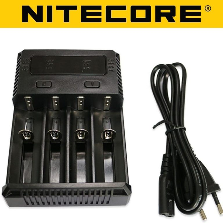 Nitecore Intellicharger New I4 Li-ion/NiMH Battery Charger