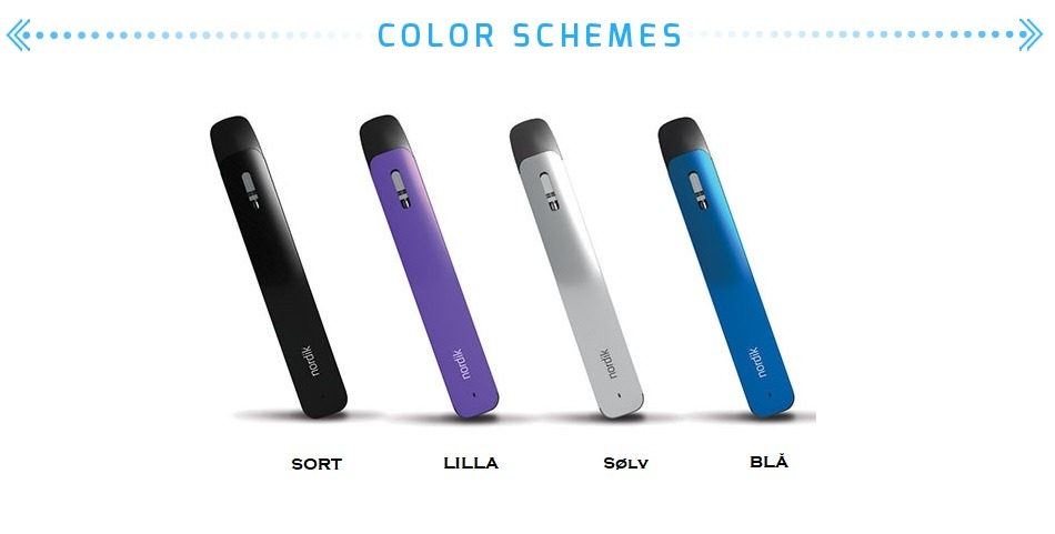 Nordik by Vapeson e-cigarette kit for e-pods