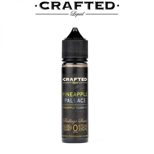 Crafted - Bull´s Eye Series - Pineapple Pallace 60ml