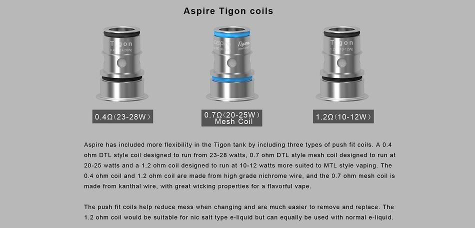 Aspire - Tigon Coils 5stk