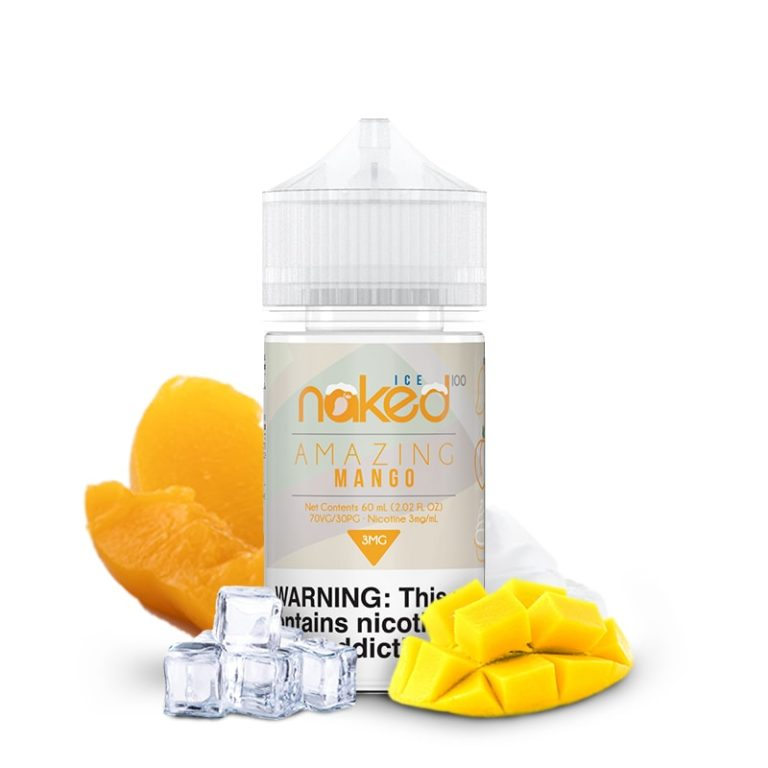 NAKED - AMAZING MANGO ICE 60ml