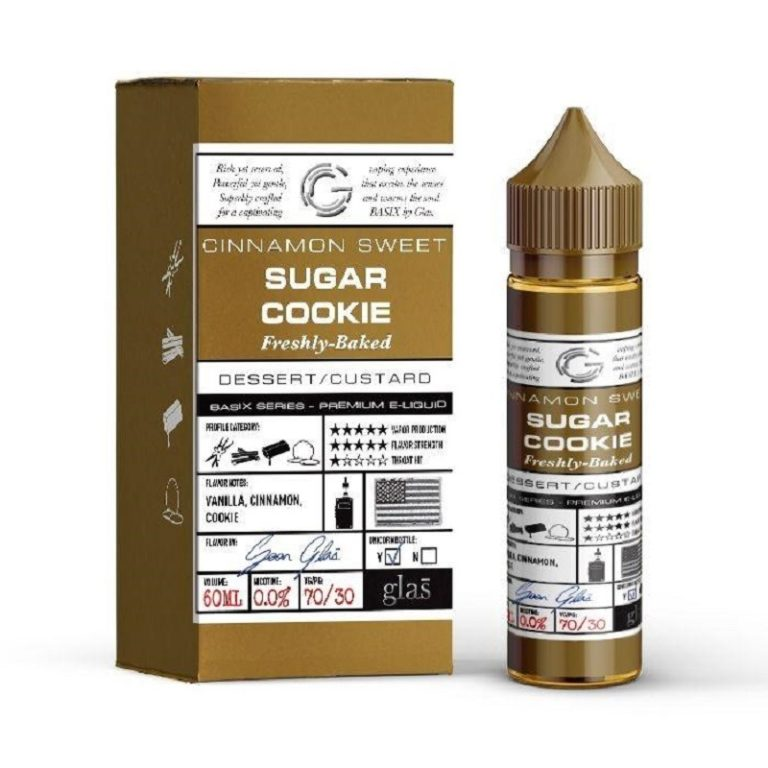 GLAS - BASIX SERIES - SUGAR COOKIE 60ml