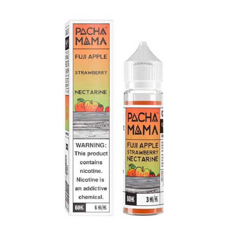 Charlie's Chalk Dust - Pachamama - Fuji Apple Strawberry Nectarine 60ml