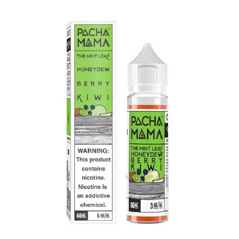 Charlie's Chalk Dust - Pachamama - The Mint Leaf Honeydew Berry Kiwi 60ml