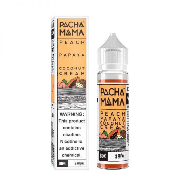Charlie's Chalk Dust - Pachamama - Peach Papaya Coconut Cream 60ml