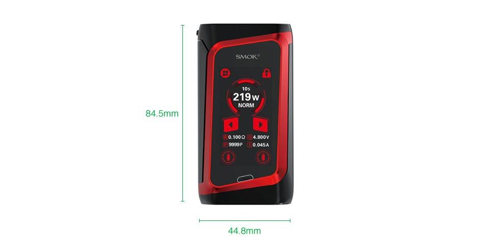 SMOK MORPH 219 TC-doos met aanraakscherm MOD