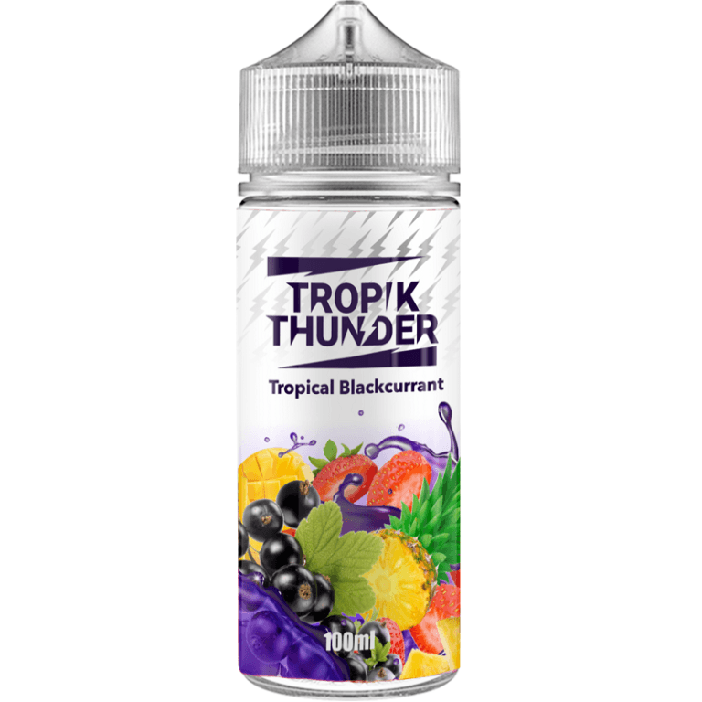Tropik Thunder - Blackcurrant 120ml