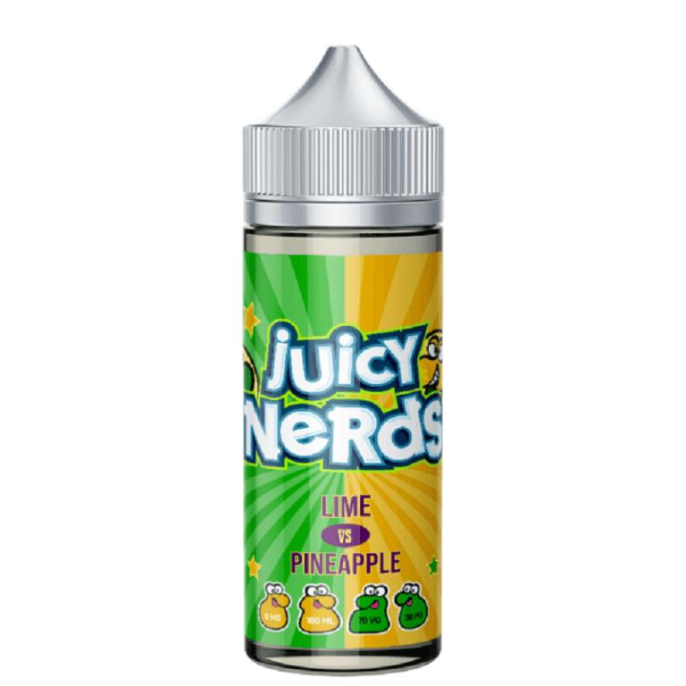 Juicy Nerds - Lime vs Pineapple 120ML