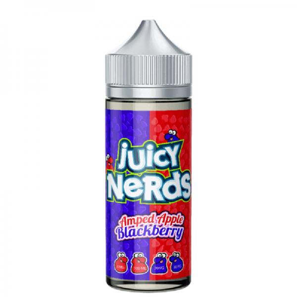 Juicy Nerds - Amped Apple & Blackberry 120ML