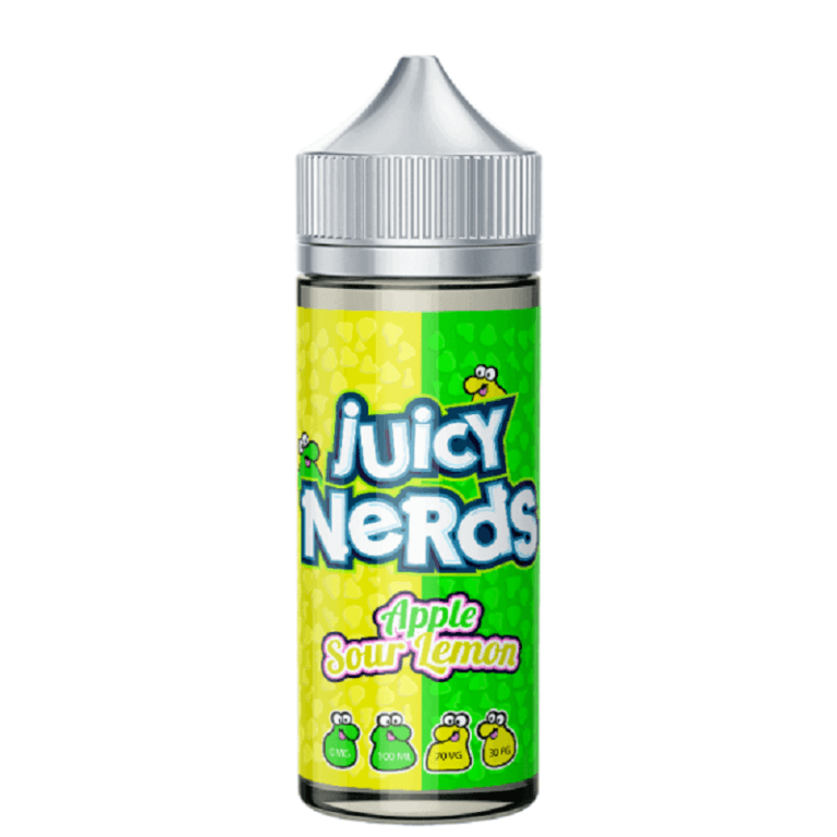 Juicy Nerds - Apple & Sour Lemon 120ML