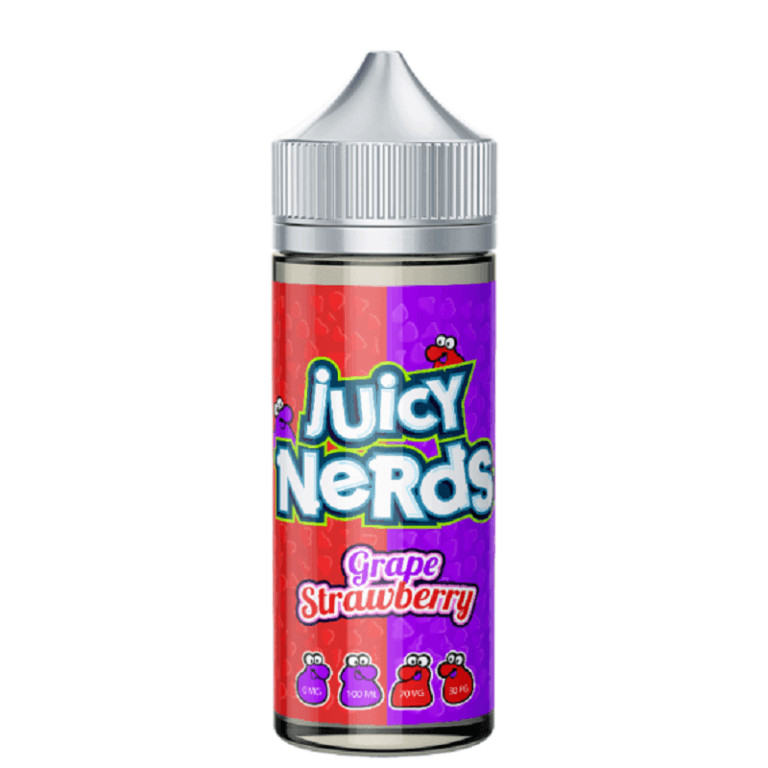 Juicy Nerds - Grape & Strawberry 120ML
