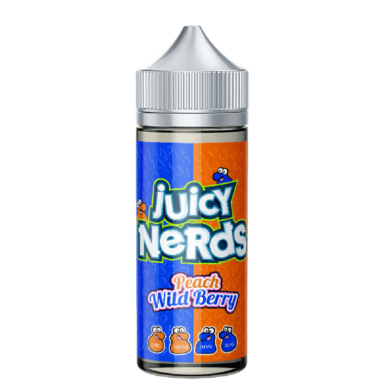 Juicy Nerds - Peach & Wild Berry 120ML