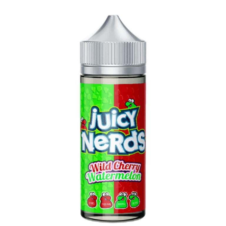 Juicy Nerds - Wild Cherry & Watermelon 120ML