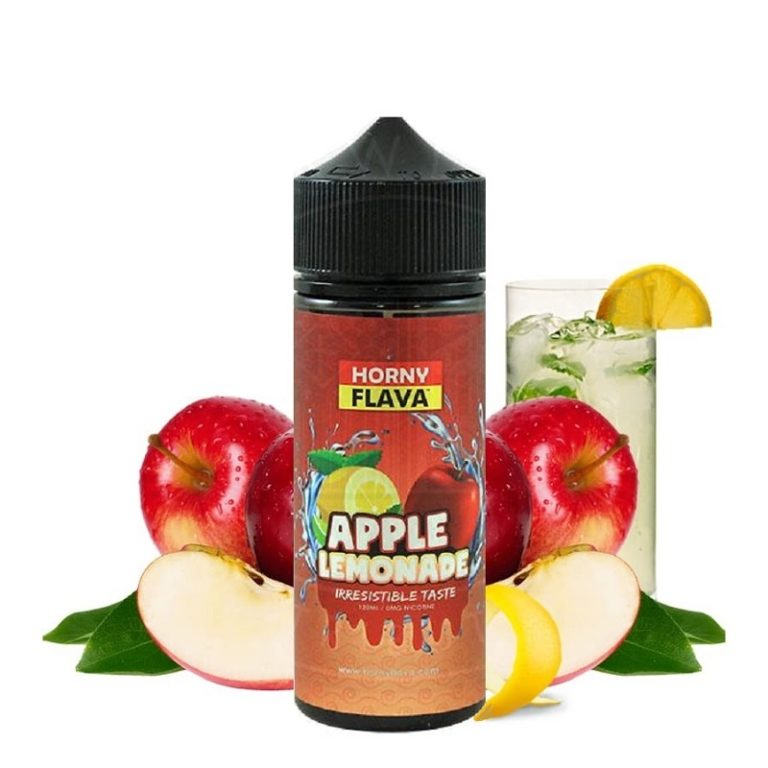 HORNY FLAVA - APPLE LEMONADE 120ML