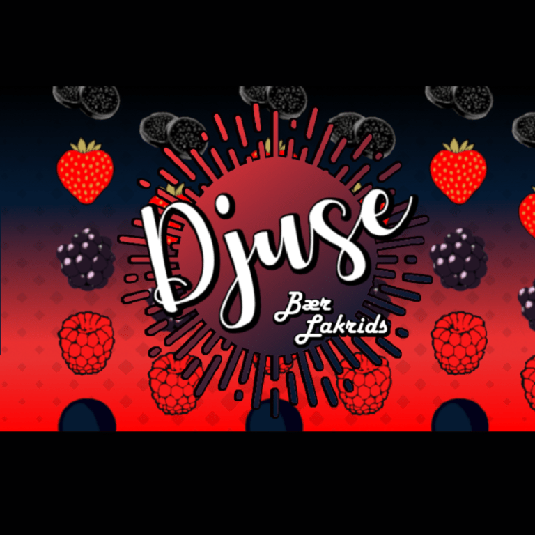 Djuse - Berry licorice 30ml