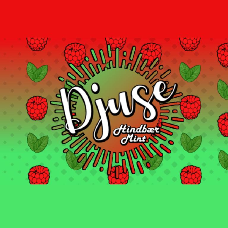 Djuse - Raspberry mint 30ml