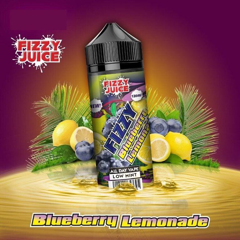 Fizzy – Blueberry Lemonade 120ml