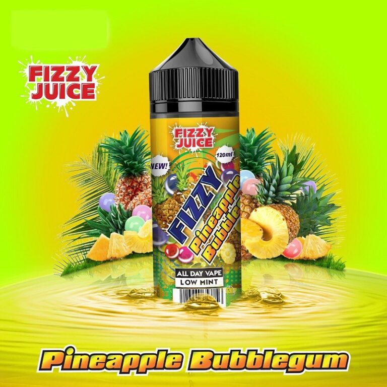 Fizzy – Pineapple Bubblegum 120ml
