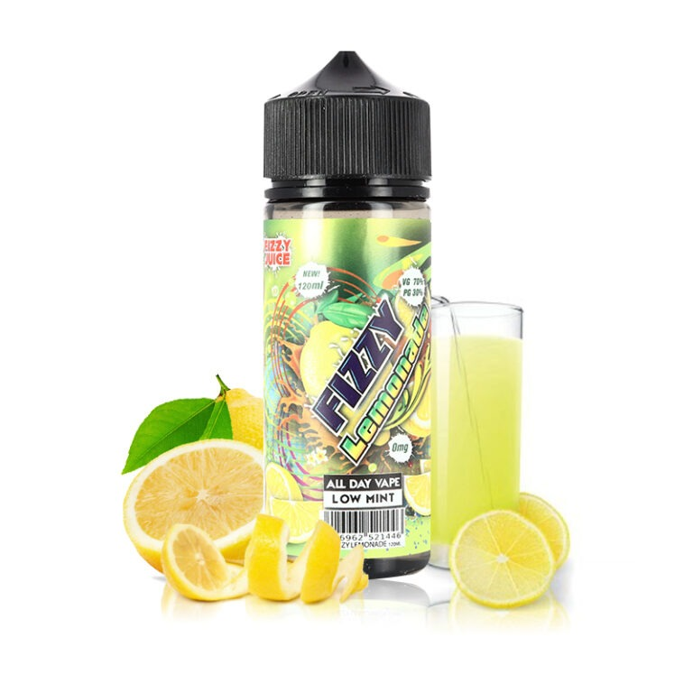 Fizzy – Lemonade 120ml