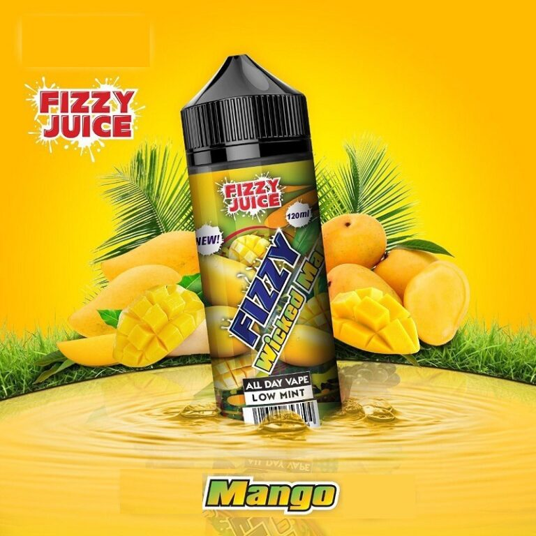 Fizzy – Mango 120ml