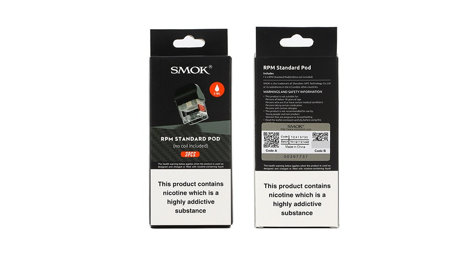 SMOK - RPM 40 Pods 3pcs