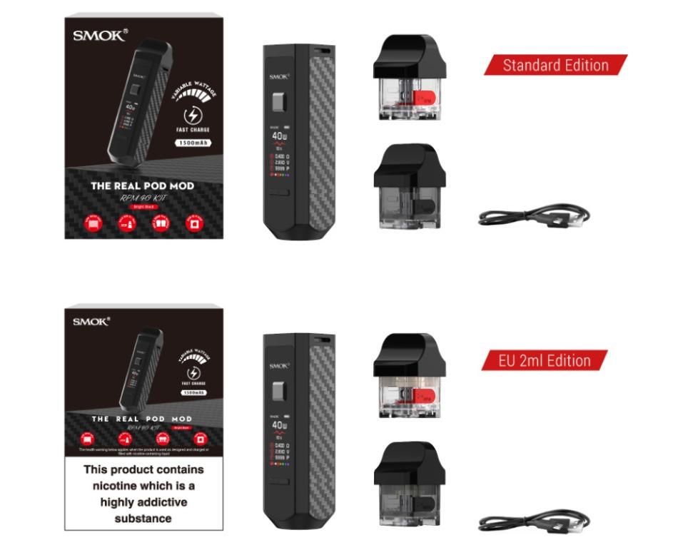 Smok - RPM 40 Pod Mod Kit 1500mAh