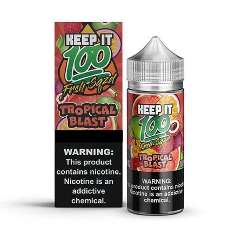 Keep it 100 - Tropical Blast 120ml