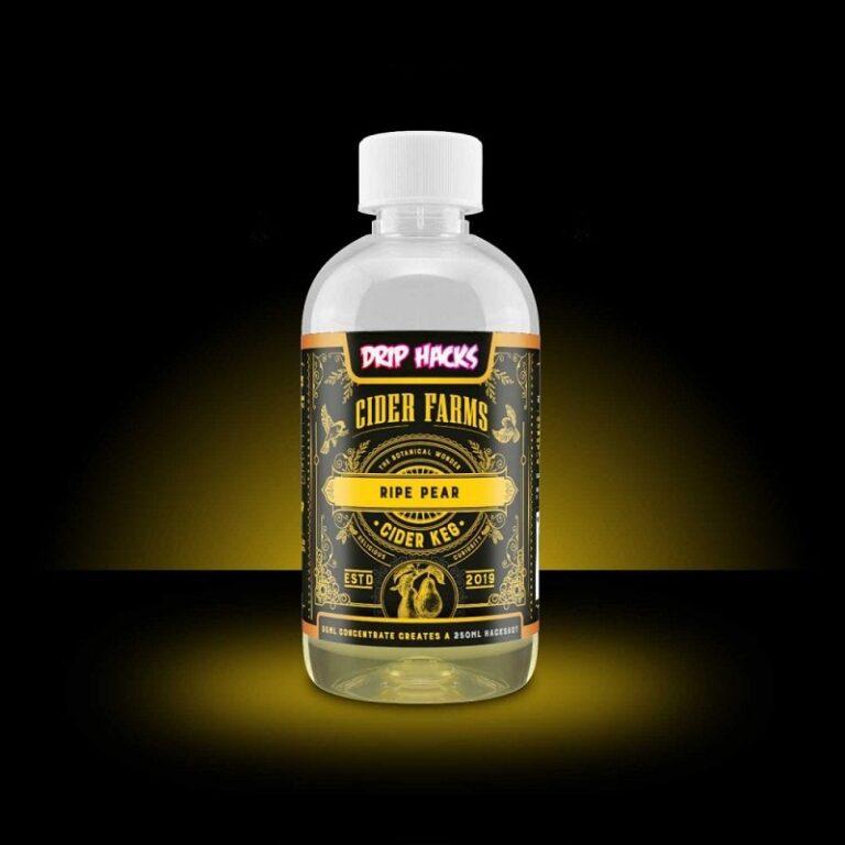 DRIP HACKS - HACK SHOTS - CIDER FARMS - RIPE PEAR