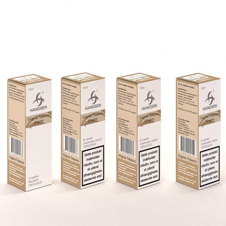 Hangsen - Virginia Tobacco 10ml