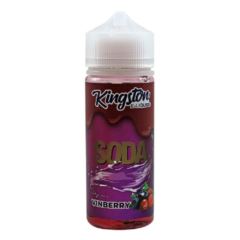 KINGSTON - SODA - VINBERRY 120ML