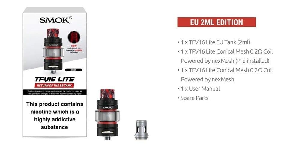 Smok - TFV16 Lite Tank