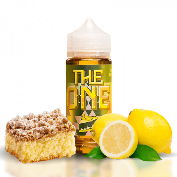 Beard Vape Co - The One - Creamy Lemon Crumble Cake 120ml