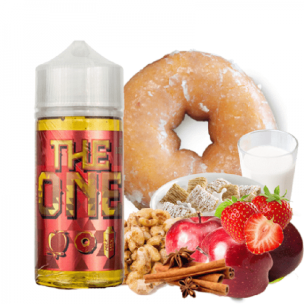 Beard Vape Co - The One - Apple Cinnamon Donut Milk 120ml