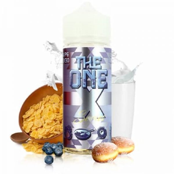 Beard Vape Co - The One - Frosted Donut Cereal Blueberry Milk 120ml