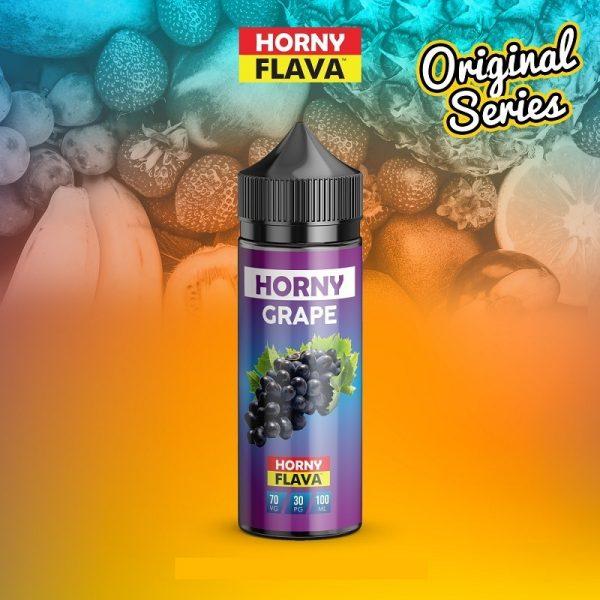 Horny Flava - Grape 120ml