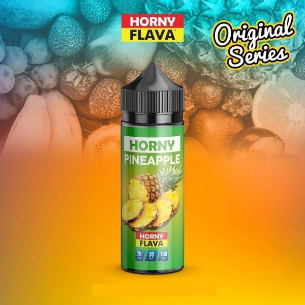 Horny Flava - Pineapple 120ml