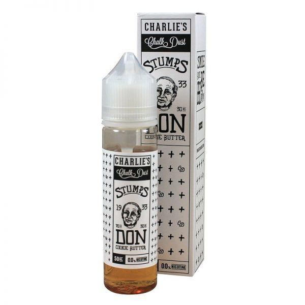 Charlie's Chalkdust - Stumps 1933 Don - Cookie Butter 60 ml